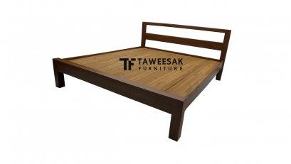 เตียงไม้สัก BE022