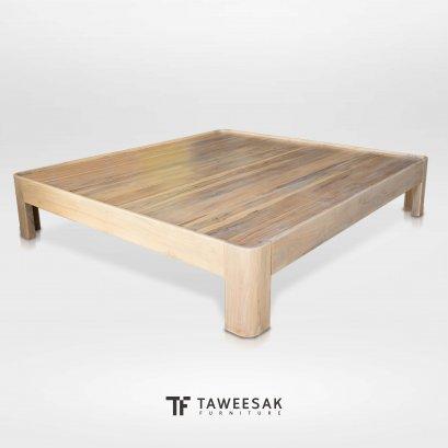 เตียงไม้สัก BE129