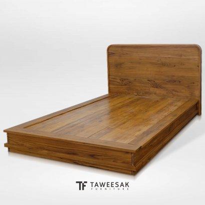 เตียงญี่ปุ่นไม้สักแท้ BE137