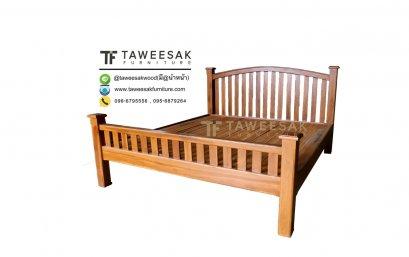 เตียงไม้สัก BE061