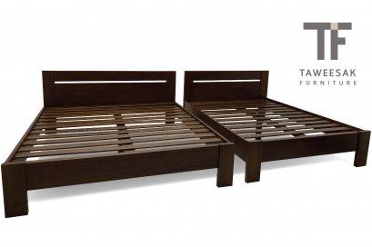 เตียงไม้สัก BE079