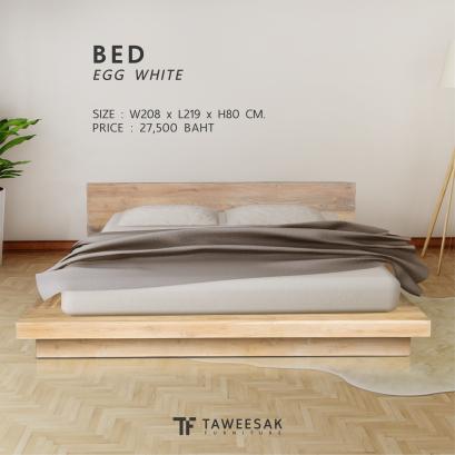 เตียงญี่ปุ่นไม้สัก BE087