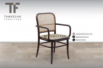 เก้าอี้หวายไม้สัก CH069