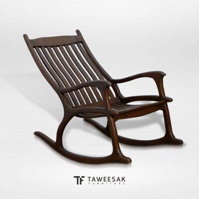 เก้าอี้โยกไม้สัก CH124