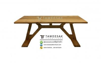โต๊ะอาหารไม้สัก DS024