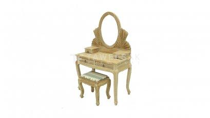 โต๊ะเครื่องแป้งไม้สัก DT001