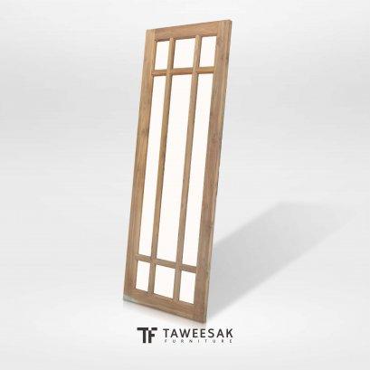 ประตูไม้สักแท้ DD012