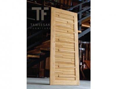 ประตูไม้สัก DD005