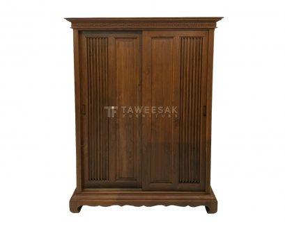 ตู้เสื้อผ้าไม้สัก WD013