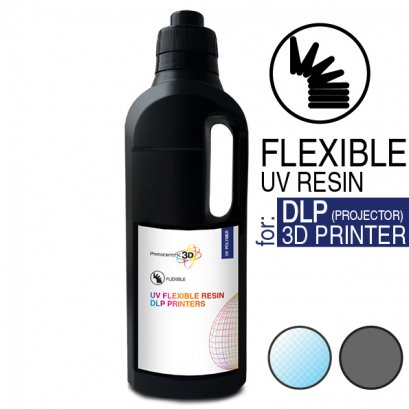 FLEXIBLE UV RESIN FOR DLP PRINTERS