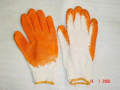 ถุงมือผ้าหุ้มยางยกกระจก PROMA