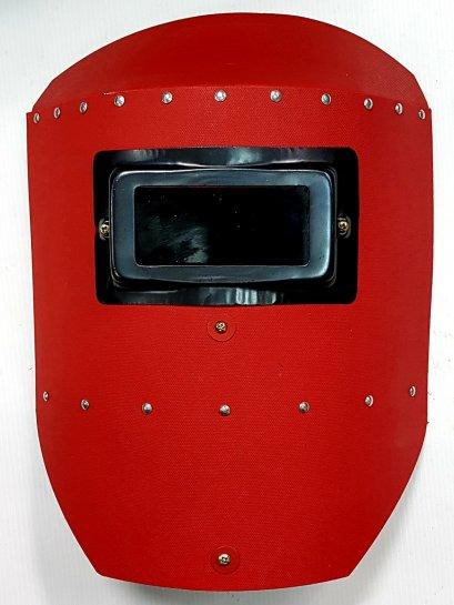 หน้ากากอ็อกมือถือสีแดง M3