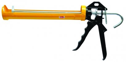 ปืนยิงกาวหมุนได้สีเหลือง