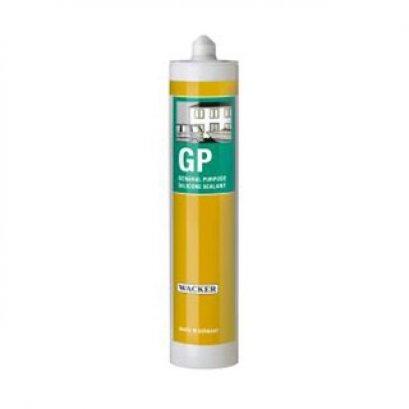 กาวซิลิโคน GP สีขาว