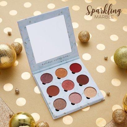 Sparkling Marble Eyeshadow Palette