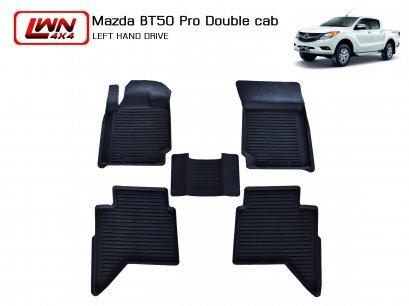 ผ้ายางปูพื้น Mazda Bt50 Pro 4 ประตู (พวงมาลัยซ้าย)