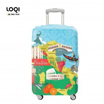 ผ้าคลุมกระเป๋าเดินทางLOQI ลาย Urban Italy(copy)