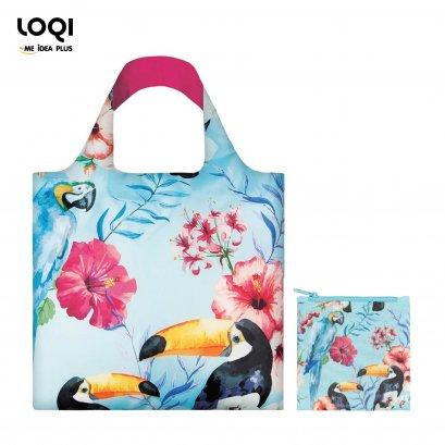 กระเป๋าผ้าแฟชั่นแบรนด์LOQI รุ่น wild collection ใบใหญ่1ใบ+ใบเล็ก1ใบ
