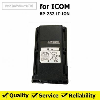 ICOM แบตเตอรี่ สำหรับ วิทยุสื่อสาร รุ่น IC-30FX สีดำ