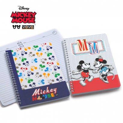 YOYA สมุดสันห่วง : Mickey&Friends รุ่น DY16-302