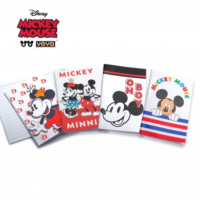 YOYA สมุดปกอ่อนเล่มเล็ก :  Mickey&Friends DY16-106