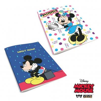 สมุดปกอ่อน DY16-105 Mickey&Friends