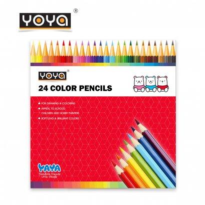 YOYA Color Pencils 24 Colors No. 551-24