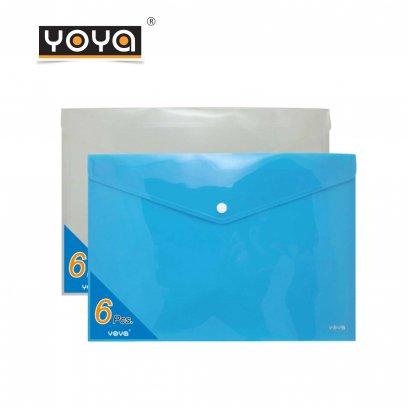 YOYA  A4 Horizontal Plastic bag Pack 6  : B206