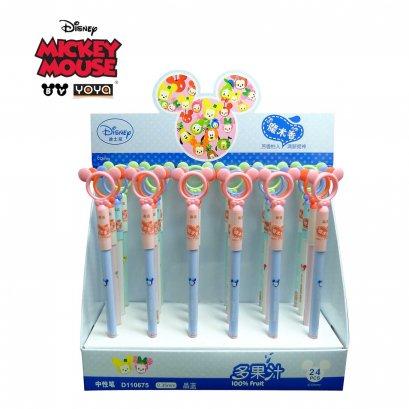 YOYA Gel pen 0.35 mm Pack 36 : Mickey&Friends D110675 / Blue Ink