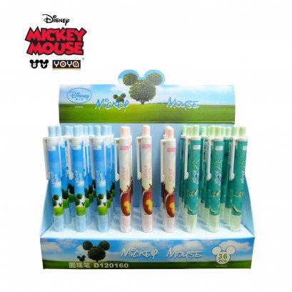 YOYA Ball point pen 0.38 mm Pack 36 : Mickey&Friends D120160 / Blue Ink
