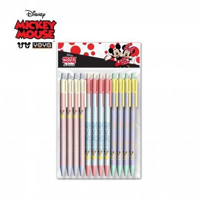 YOYA M-Pencil 2B Pack 12 : Mickey&Friends D131119