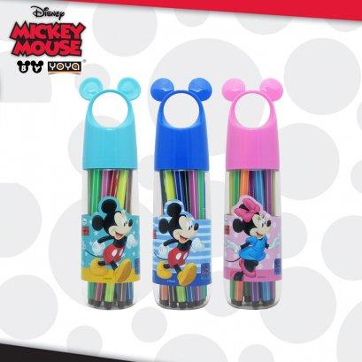 ปากกาเมจิก 18 สี D01387-18 Mickey&Friends