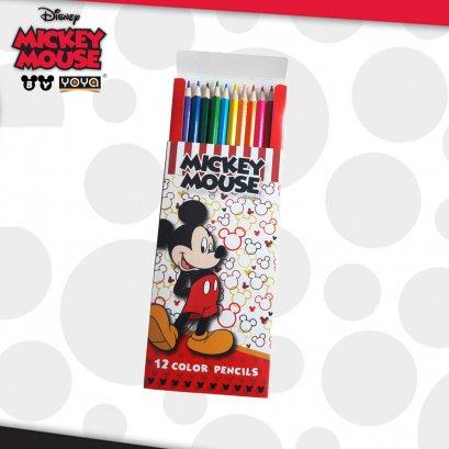 ดินสอสีไม้ 12 สี DY551-12 Mickey&Friends