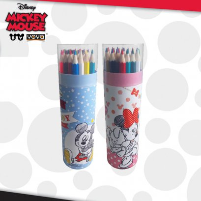 ดินสอสีไม้ 36 สี D01193 Mickey&Friends