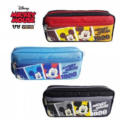 YOYA กระเป๋าดินสอ :  Mickey&Friends DM25203