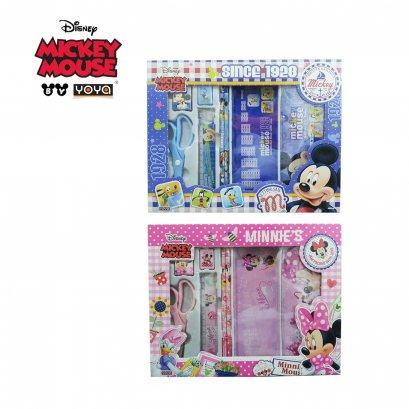 YOYA ชุด เครื่องเขียน Disney : DM0011-5 Mickey&Friends Gift set
