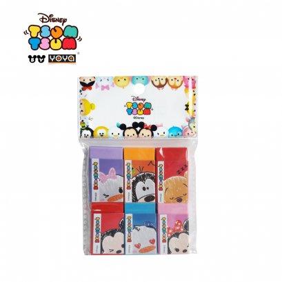 YOYA Pack 6 Rubber : Tsum-Tsum DM20028