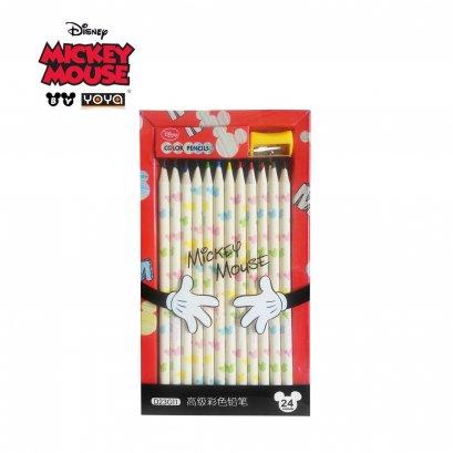 YOYA Color Pencil 24 colors : Micker&Friends D23G1124