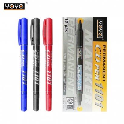 ปากกาเขียนซีดี 2 หัว 1101