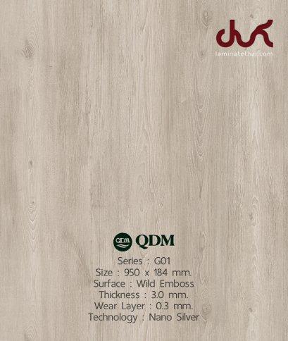G01 QDM Woodtile 3 mm.