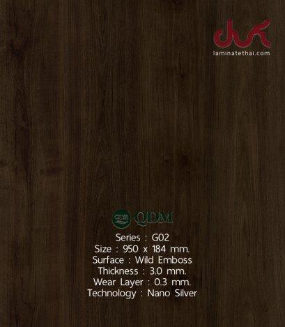 G02 QDM Woodtile 3 mm.