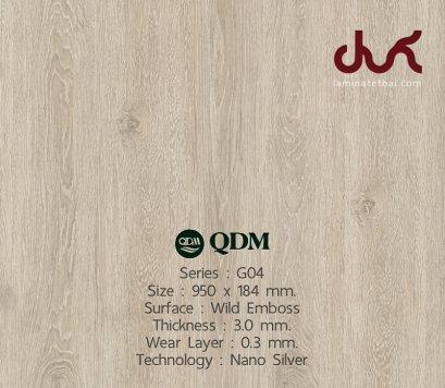 G04 QDM Woodtile 3 mm.