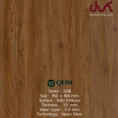 G08 QDM Woodtile 3 mm.