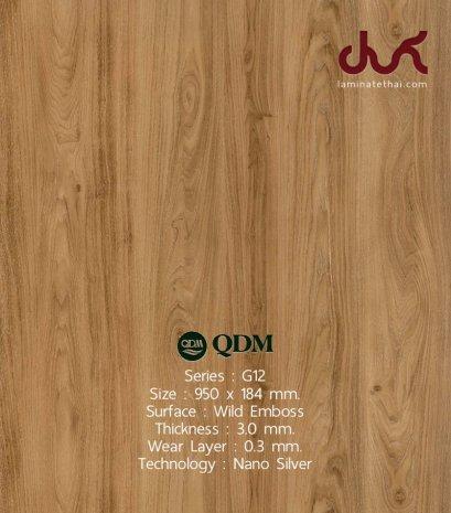 G12 QDM Woodtile 3 mm.