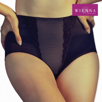 Soft girdle, full brief, short for big size ladies