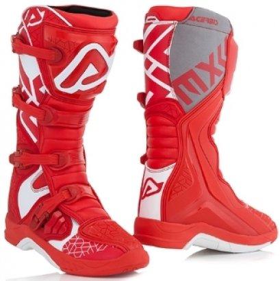 ACERBIS BOOTS X-TEAM RED/WHITE