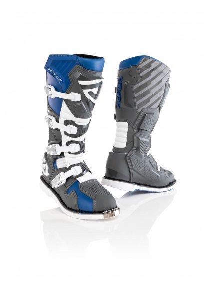ACERBIS BOOTS  X-RACE BLUE/GREY