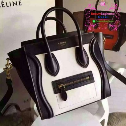 Celine nano luggage original leather