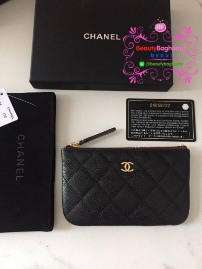 Chanel  wallet Original leather งานดีสุด