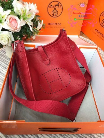 Hermes evelyn togo leather งานHiend 1:1